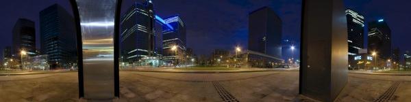 Bruxelles, boulevard du Roi Albert II